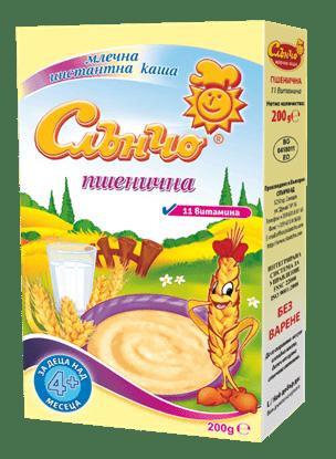 Picture of МЛЕЧНА КАША СЛЪНЧО ПШЕНИЧНА 200ГР