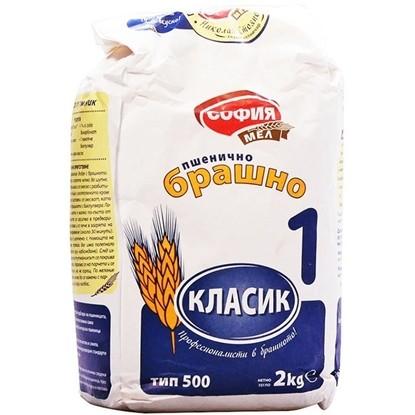 Picture of БРАШНО СОФИЯ МЕЛ 2КГ.*6БР.ТИП 500