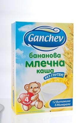 Снимка на БАНАНОВА МЛЕЧНА КАША 200ГР ГАНЧЕВ - ЦЕНА ЗА БР.