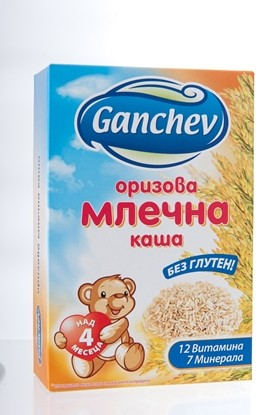 Picture of ОРИЗОВА МЛЕЧНА КАША 200ГР ГАНЧЕВ