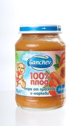 Picture of ПЮРЕ ПРАСКОВИ И МОРКОВИ 190ГР ГАНЧЕВ