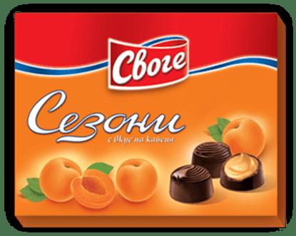 Picture of БОНБОНИ СЕЗОНИ 160ГР.*14БР. КАЙСИЯ