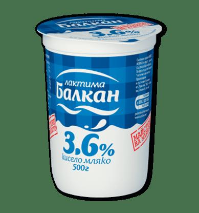Снимка на КИСЕЛО МЛЯКО БАЛКАН 3.6%  400ГР