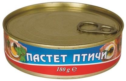 Picture of ПАСТЕТ ПТИЧИ ГЕНЕРАЛ ТОШЕВО 180ГР.*36БР.