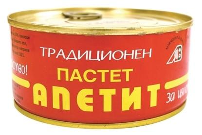 Picture of ПАСТЕТ АПЕТИТ ГЕНЕРАЛ ТОШЕВО 300ГР.*18БР.