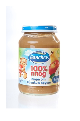 Picture of ПЮРЕ ЯБЪЛКИ И КРУШИ 190 ГР. ГАНЧЕВ