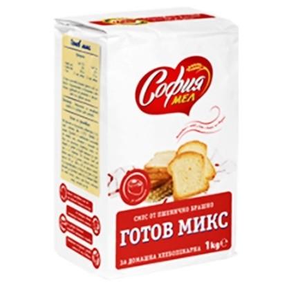 Снимка на БРАШНО СОФИЯ МЕЛ 1КГ. МИКС - ЦЕНА ЗА БР.