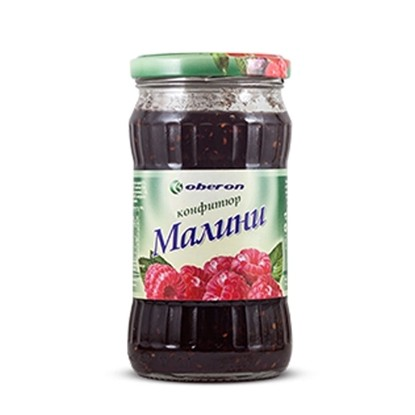 Снимка на КОНФИТЮР ОБЕРОН 350ГР. 35% ПЛОД МАЛИНА