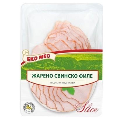 Снимка на ЖАРЕНО СВИНСКО ФИЛЕ 150ГР. СЛАЙС ЕКО МЕС - ЦЕНА ЗА БР.