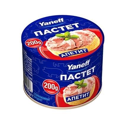 Picture of ПАСТЕТ АПЕТИТ 200ГР*20БР. ЯНЕВ