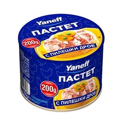 Picture of ПАСТЕТ ПТИЧИ 200ГР*20БР. ЯНЕВ