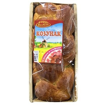 Picture of КОЗУНАК С ЛОКУМ И СТАФИДИ 500ГР. БАЛ КЛАС