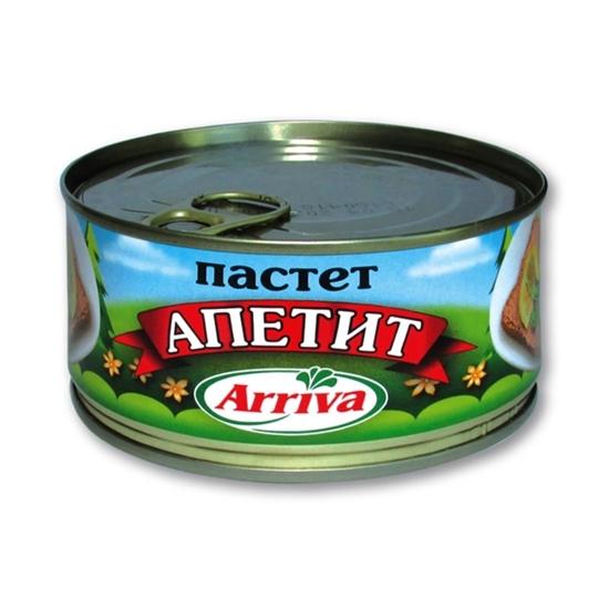 Picture of ПАСТЕТ АПЕТИТ 300ГР.*24БР. АРИВА