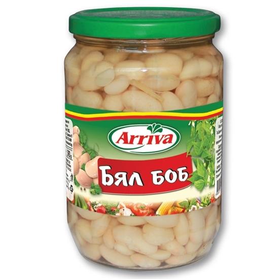 Picture of БЯЛ БОБ БУРКАН 680ГР.*6БР. АРИВА