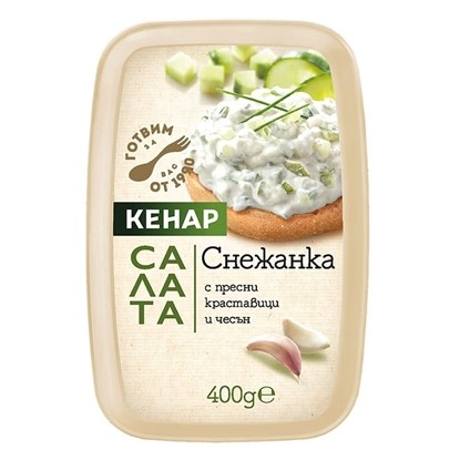 Picture of САЛАТА СНЕЖАНКА 400ГР. КЕНАР