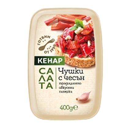 Picture of САЛАТА ЧУШКИ С ЧЕСЪН 400ГР. КЕНАР