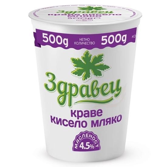 Picture of КИСЕЛО МЛЯКО 4.5% ЗДРАВЕЦ 500ГР.*12БР.