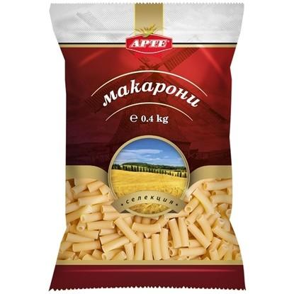 Picture of МАКАРОНИ ГЛАДКА ТРЪБА 400ГР.*25БР. АРТЕ