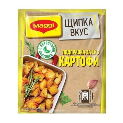 Снимка на МАГИ ЩИПКА ВКУС ЗА КАРТОФИ 40ГР.*36БР.